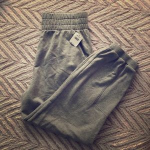 Free People gray sweats NWT-L